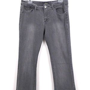 Jordache Womens Bootcut Jeans Studs Jewel Sz 10 G4